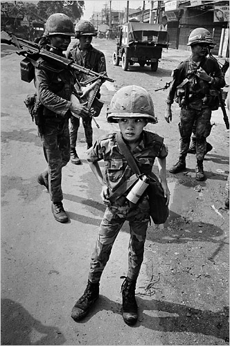 "VIETNAM. Called a ""little tiger"" for killing two ""Vietcong women cadre"" - his mother and teacher, it was rumored. 1968"