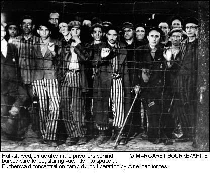 Buchenwald Concentration Camp - May 1945