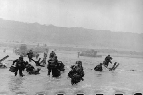 D-Day Landing at Normandy, June 6, 1944