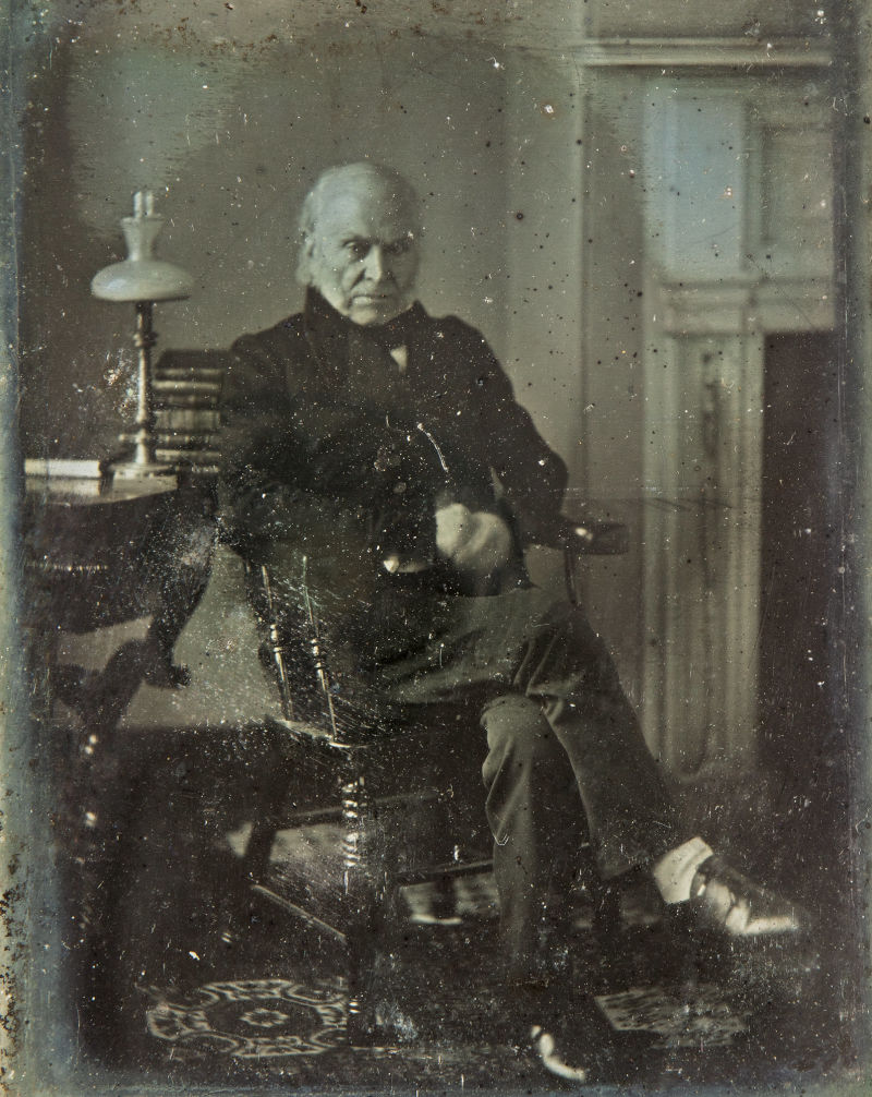 John Quincy Adams, 1843 photograph - Dag
