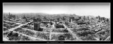 1906 Ballon Panorama of SF Fire damage