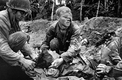 Tending to Soldiers - Vietnam